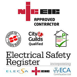 Accreditations for JS Electrical